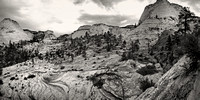 Utah Landsccapes in B&W